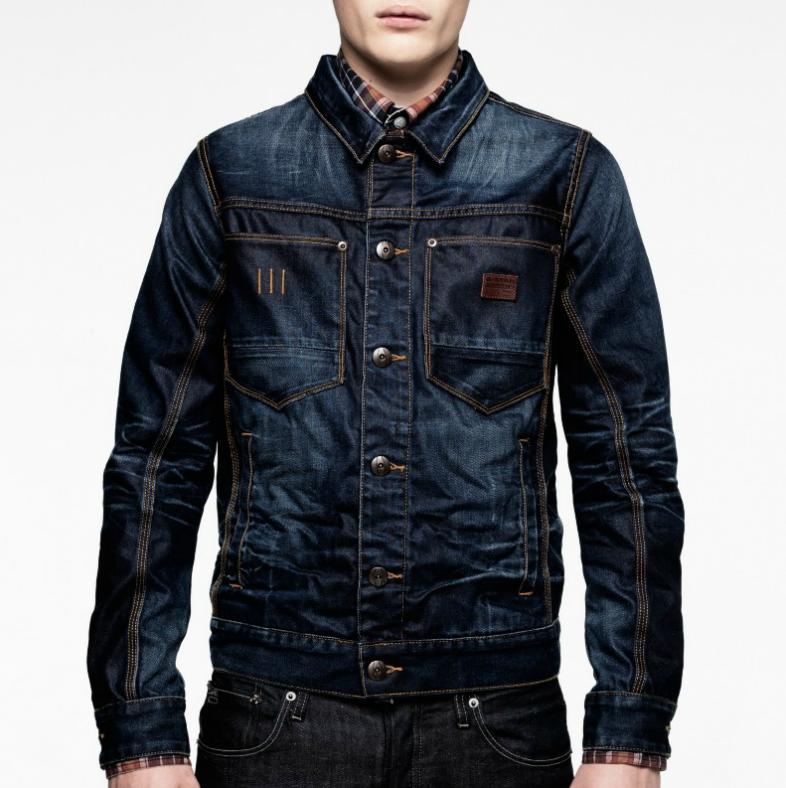 Love My G Star Ranch Aged Tailor Jacket Jaket Sweter Model