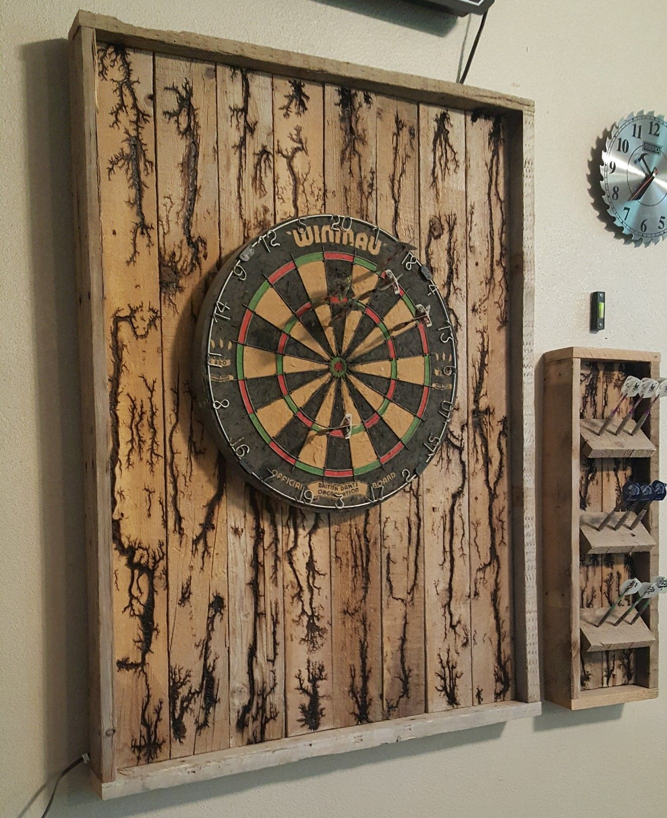 Pin by al nolan on Darts | Woodworking plans clocks ...