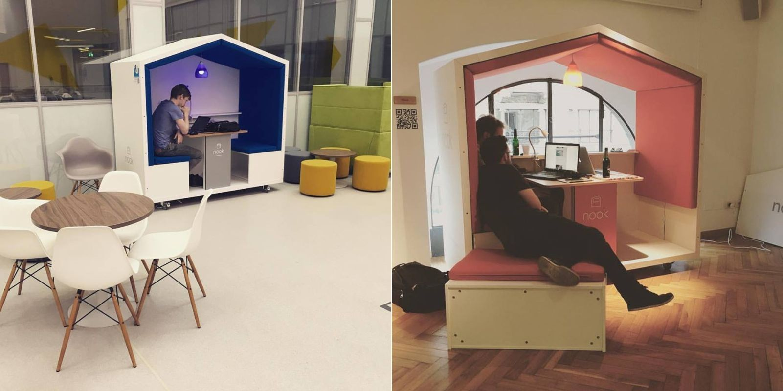 Nook Pod Is Movable Privacy Solution For Modern Workplace Nook