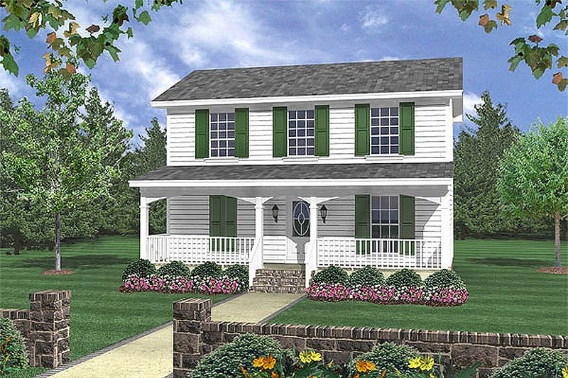Traditional Style House Plan 3 Beds 2 Baths 1200 Sq Ft Plan 21 225