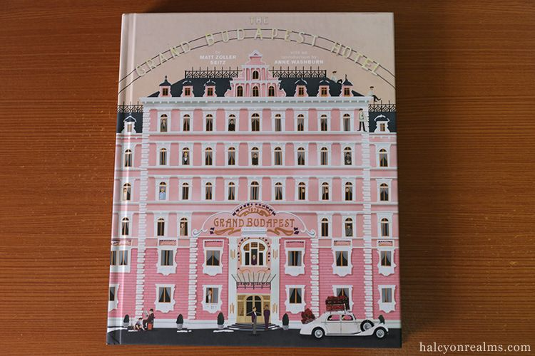 Wes Anderson Coffee Table Book.The Grand Budapest Hotel Making Of Book Review The Cinema Grand
