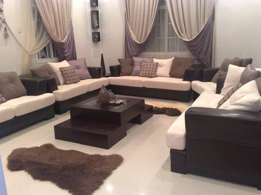 تصميمات مجالس كنب متصل مميزة Classy Living Room Home Decor Decor