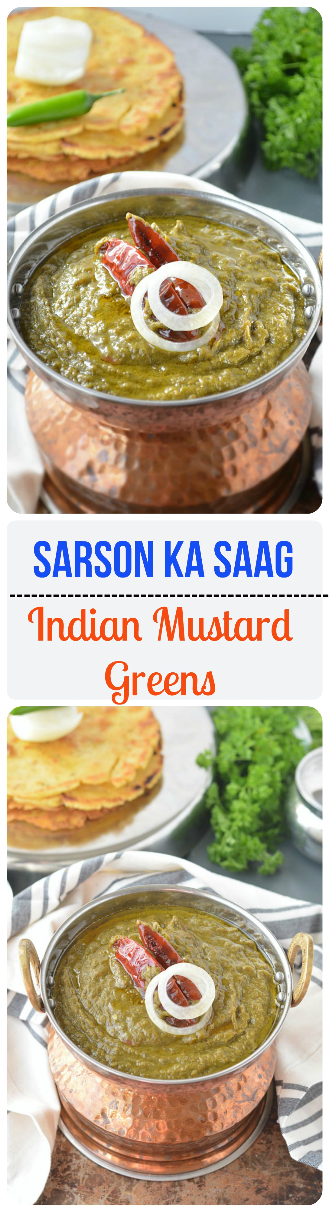 Sarson ka saag this hearty delicious and one pot meal is richly sarson ka saag this hearty delicious and one pot meal is richly flavored with punjabi recipesindian forumfinder Choice Image