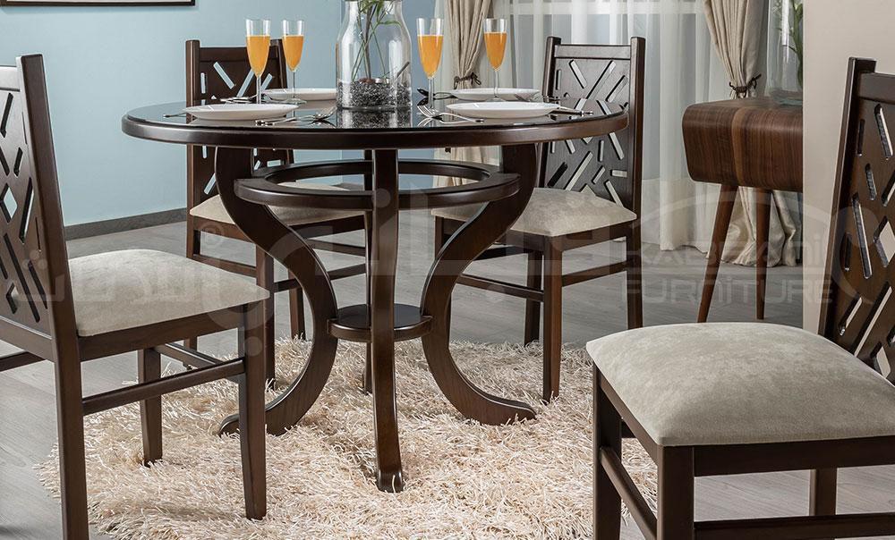 ترابيزة سفرة دائرية 120 سم Home Decor Bar Table Furniture
