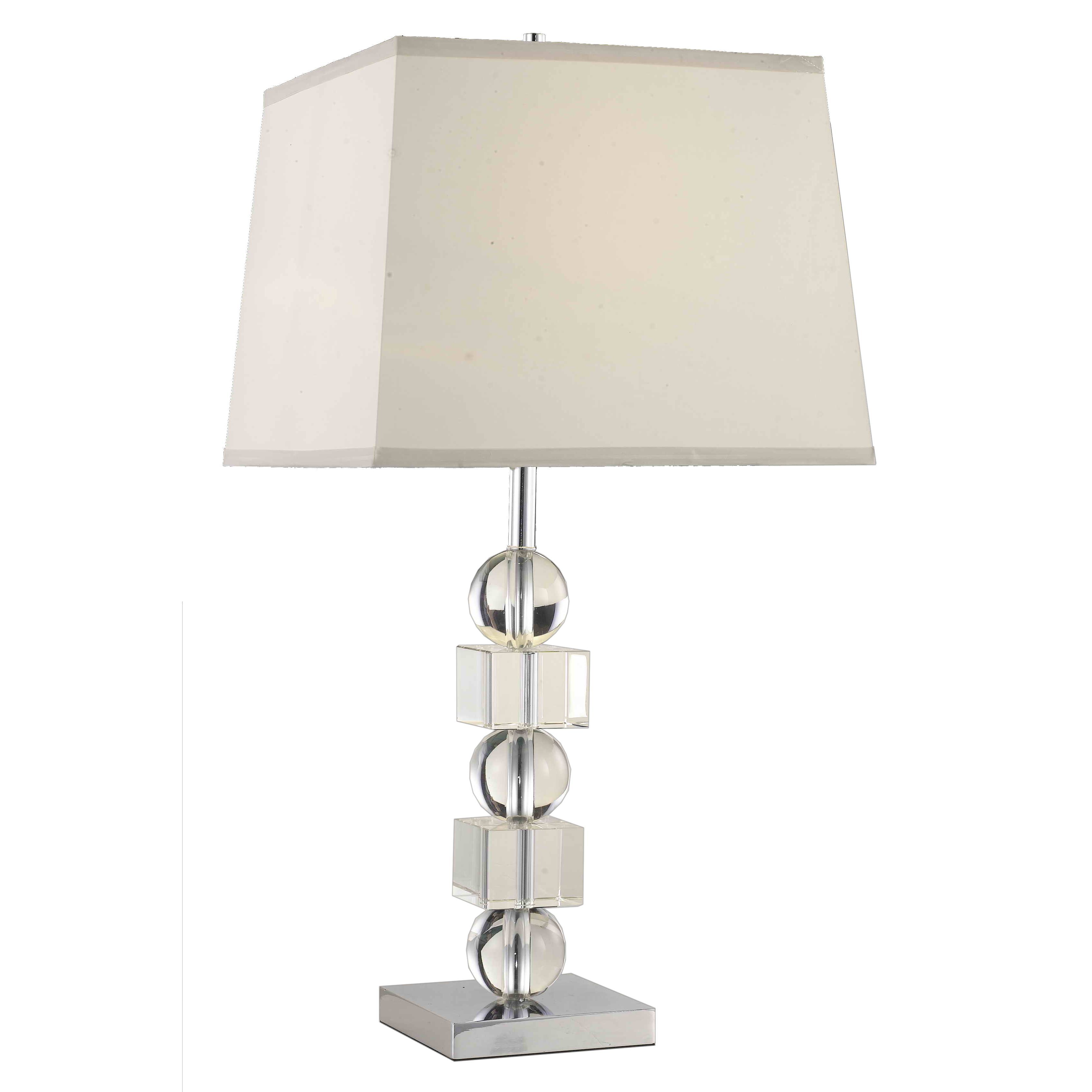 Somette poise stacked crystal table lamp crystal and metal lamp overstock online shopping bedding furniture electronics jewelry clothing more light tablelamp aloadofball Images
