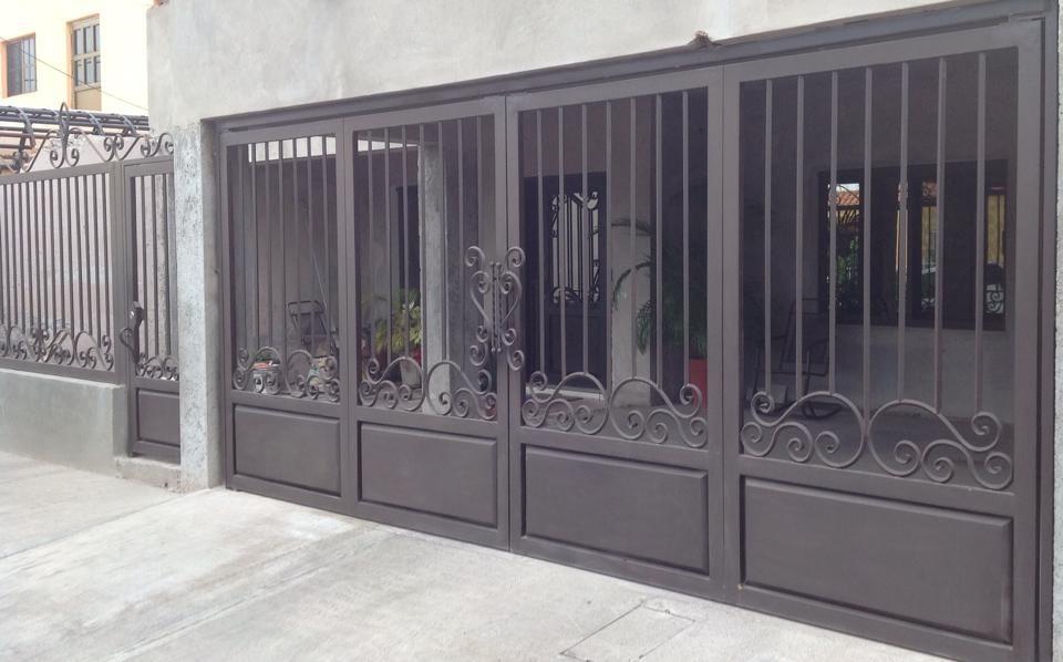 Tendencias en puertas de herreria puertas y ventanas - Puertas de metal para casas ...