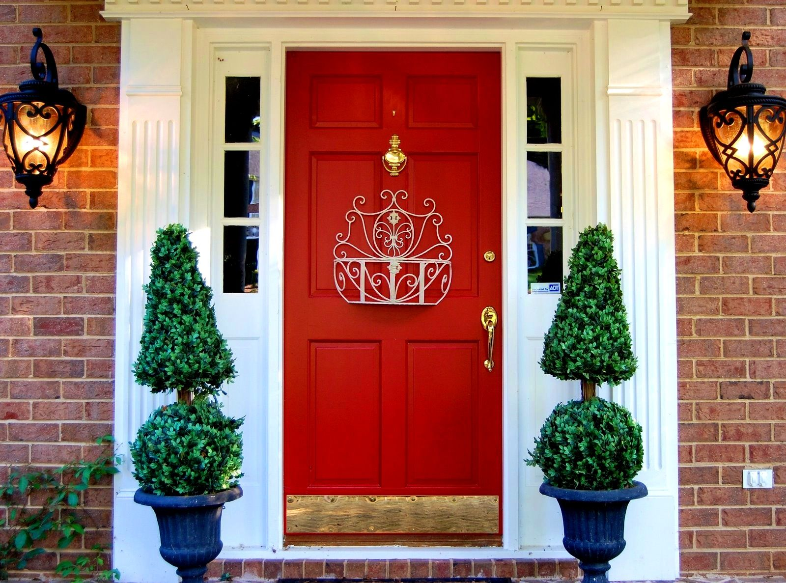 Interior:Alluring Front Door Decoration Welcome Guests Decorations ...
