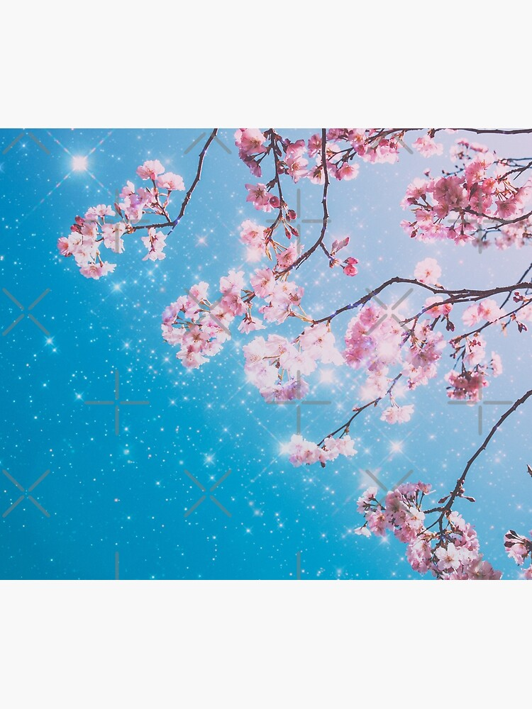 Cherry Blossom Aesthetic Tapestry By Ind3finite In 2021 Cherry Blossom Blossom Tapestry