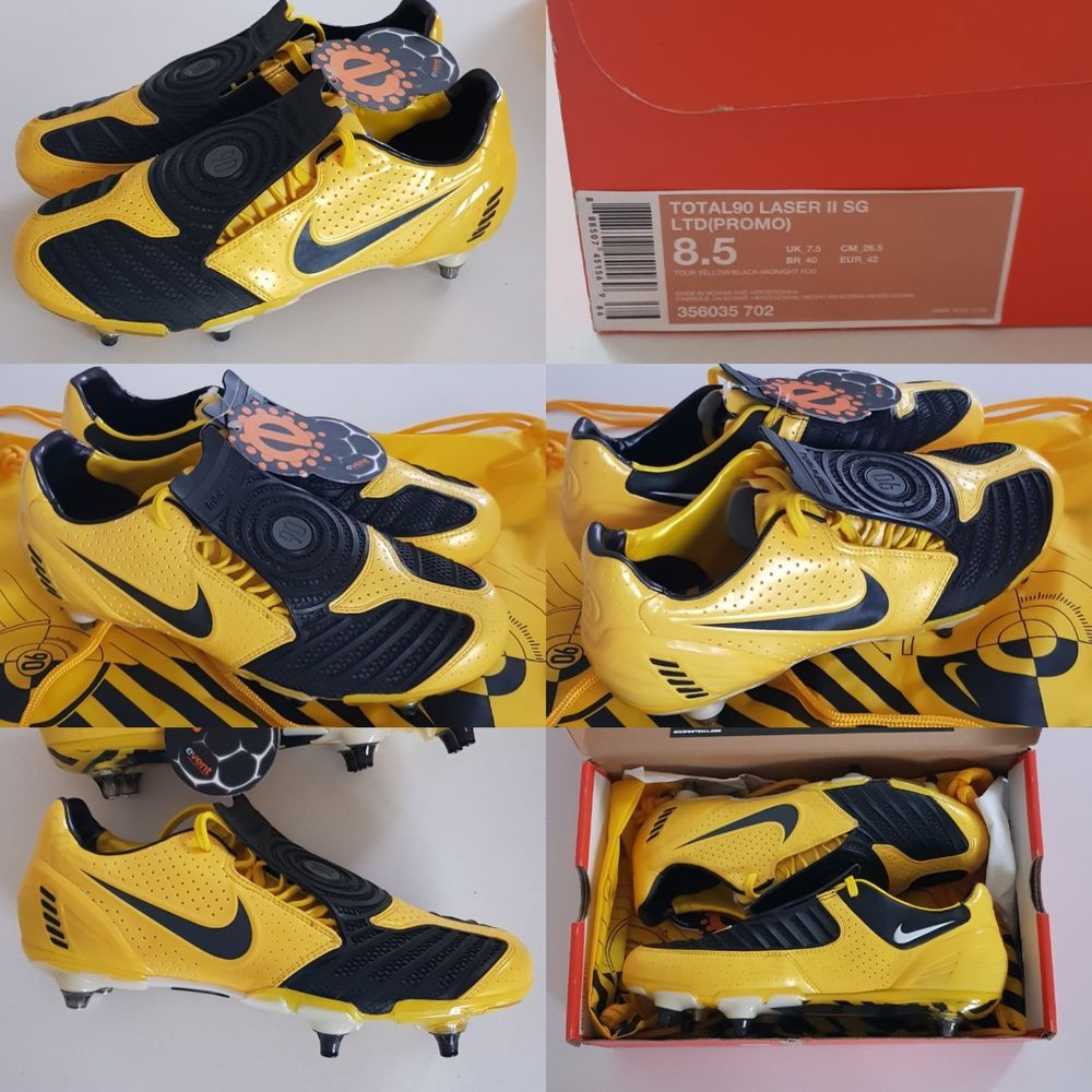 8603b0ff8b3 2008 NIKE TOTAL90 LASER II LTD PROMO FOOTBALL BOOTS SOCCER MANIA UK ...