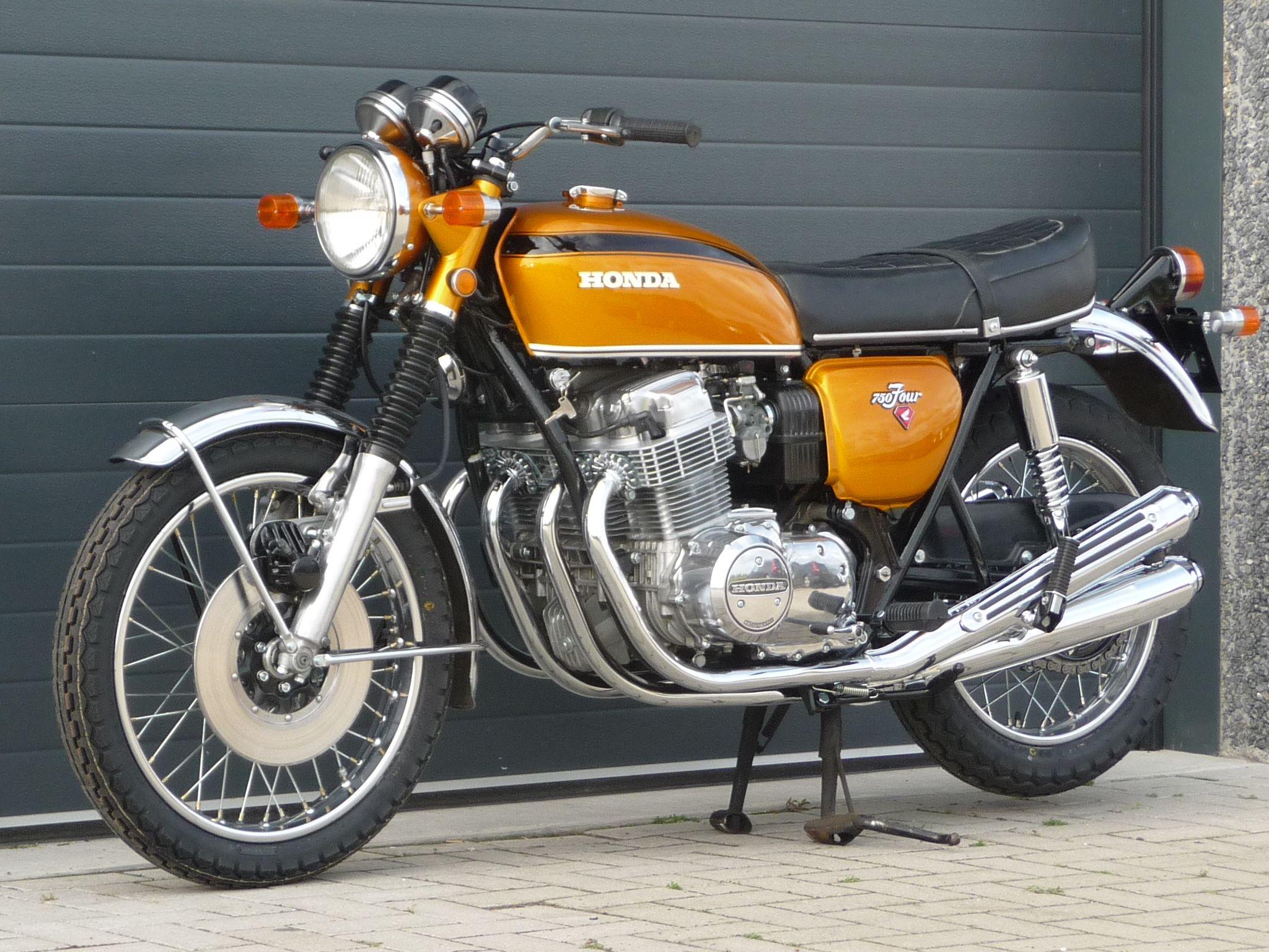 Honda Garage Utrecht : Honda cb750 k1 1971blauweplaat motoren utrecht honda cb 750 and