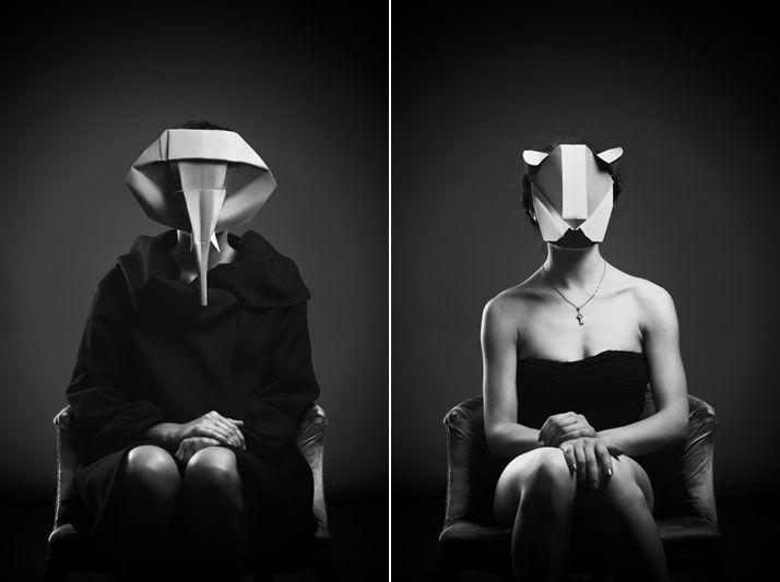 Beautiful Origami Portraits Open A Window Onto An Imaginary World