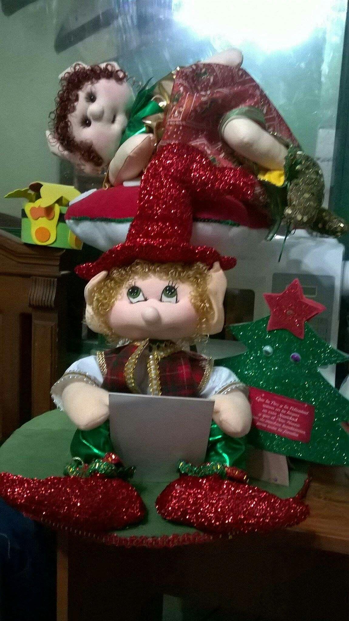 Pin de vicky huapaya en navidad pinterest duendes for Gnomos navidenos