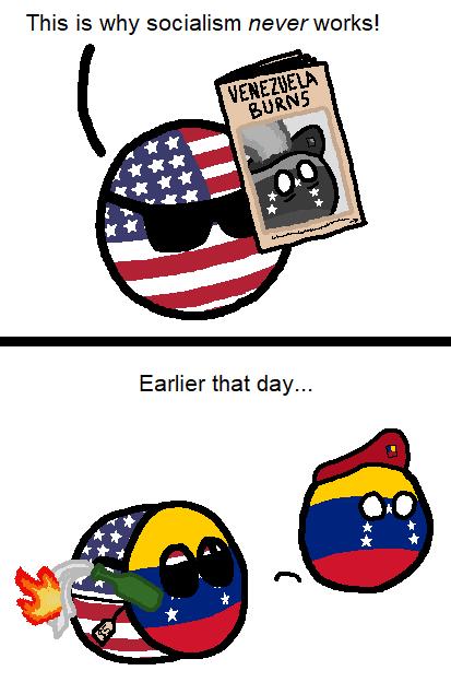 Omg Socialism In Venezuela Via Reddit Country Jokes Fun Comics History Memes