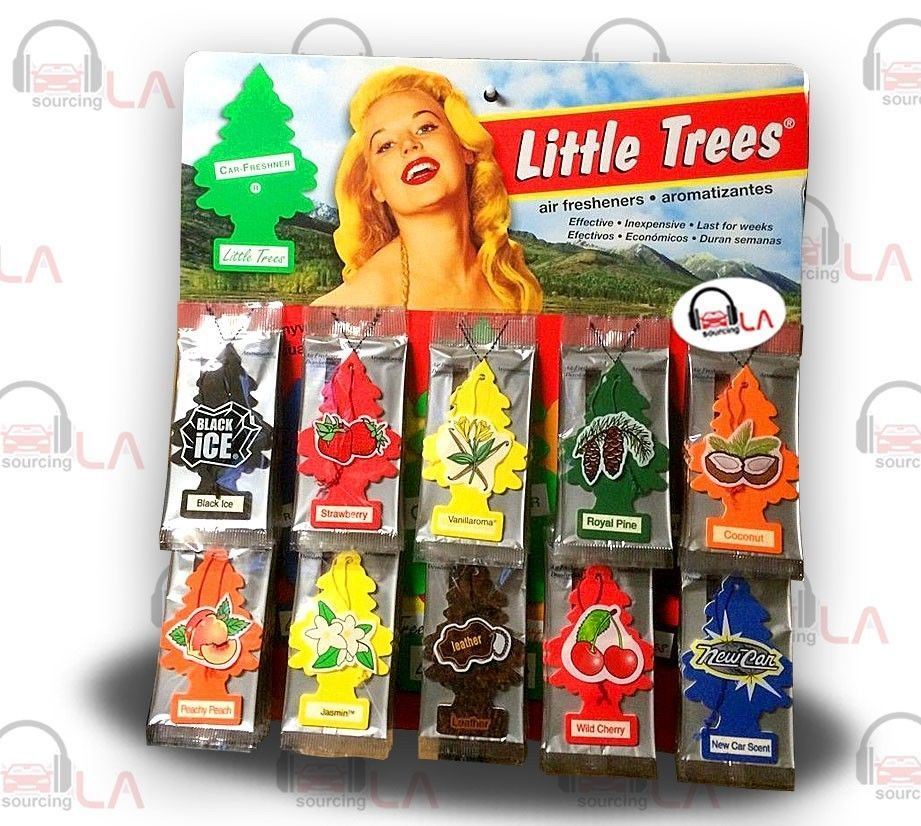 48 Piece Display Little Tree Air Freshners Air freshener