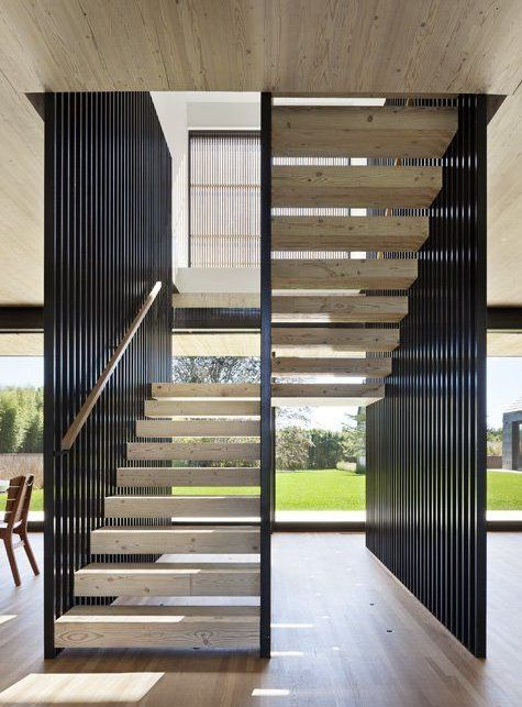 Resultado de imagen para escaleras modernas barandales for Escaleras casas modernas