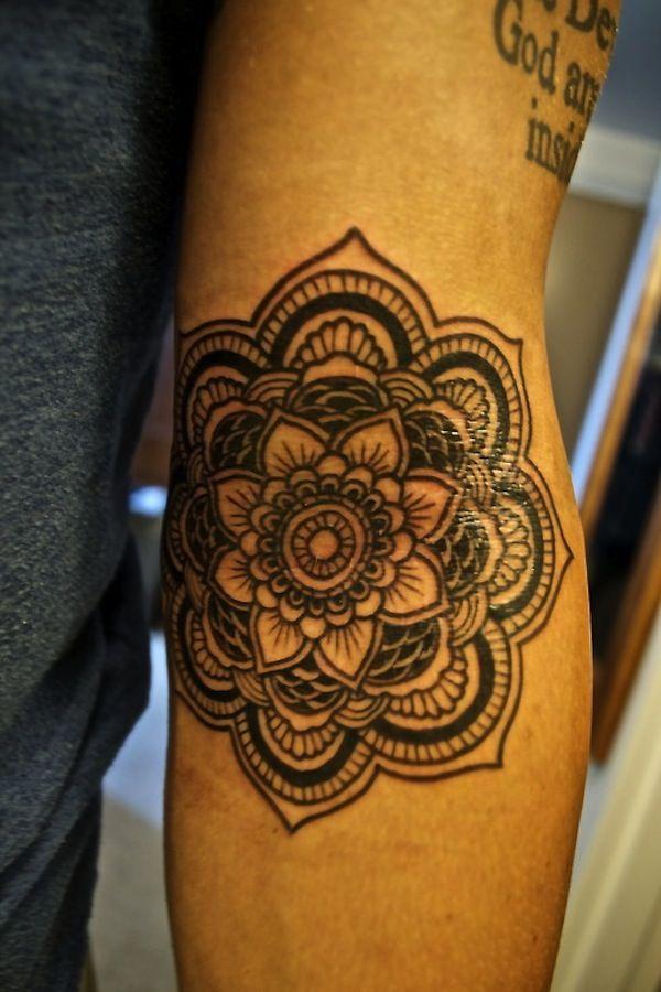 Black outline tribal lotus flower tattoo i know that part is black outline tribal lotus flower tattoo i know that part is sensitive it must have hurt a little but its got nice outcome tattoomodels tattoo mightylinksfo