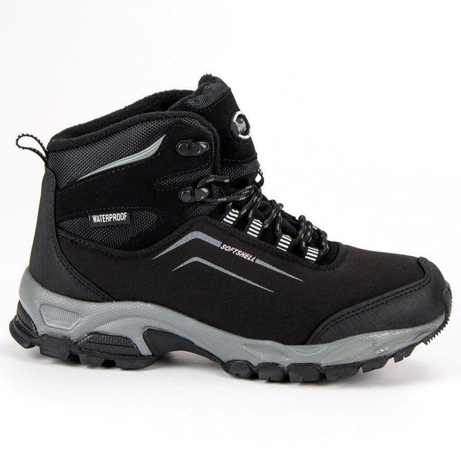 American Club Damskie Zimowe Buty American Czarne Hiking Boots Sketchers Sneakers Boots
