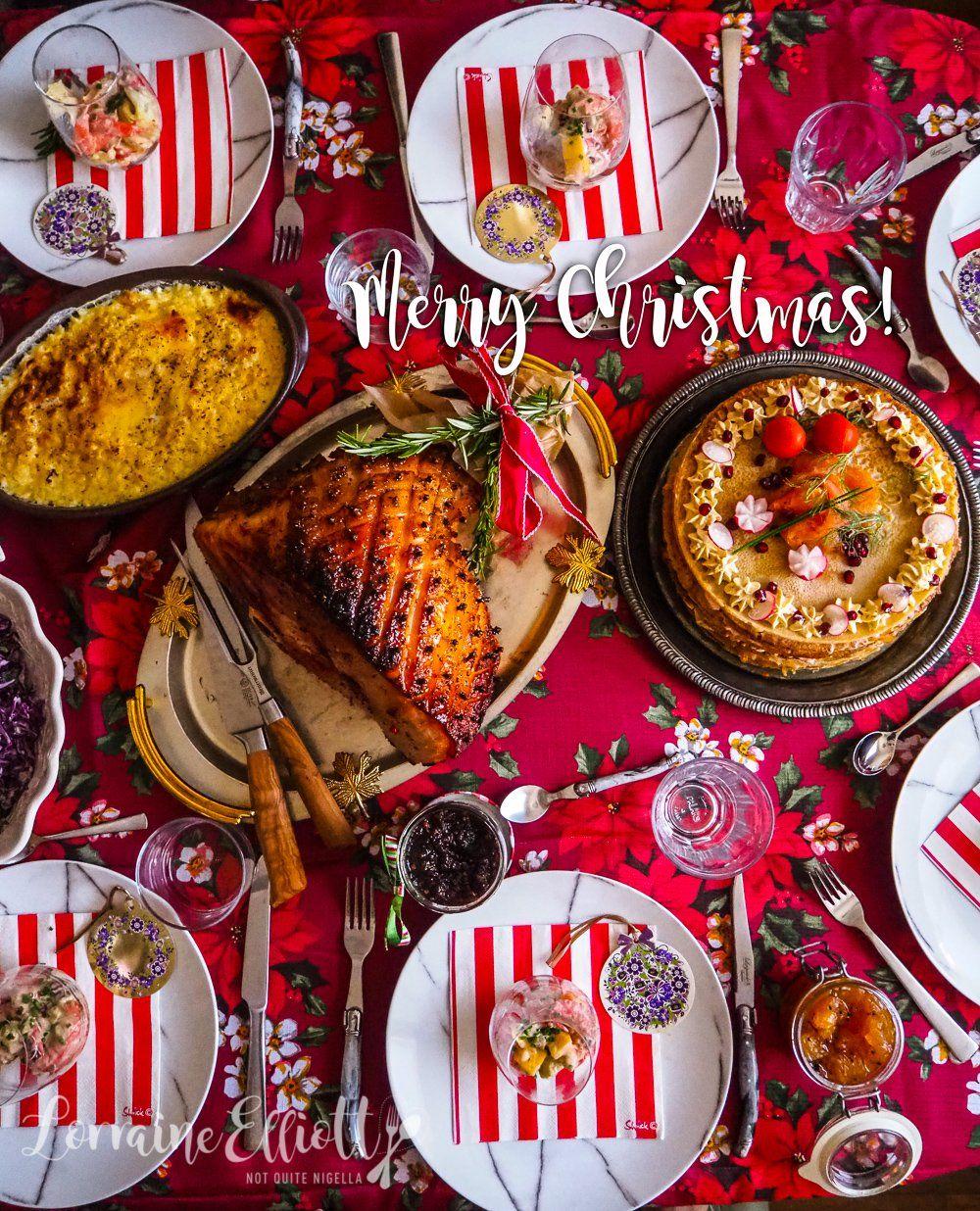 A Very Merry Australian Christmas Dinner Recipe Christmas Food Dinner Australian Christmas Food Christmas Food