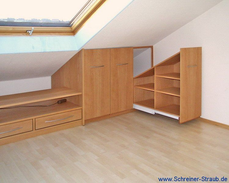 m bel dachschr ge einbauschrank kinderzimmer unter. Black Bedroom Furniture Sets. Home Design Ideas