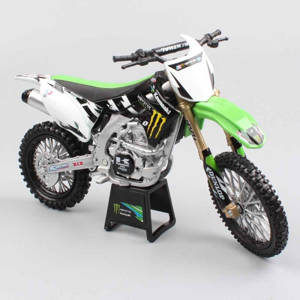 Kawasaki Kx450f Monster Diecast 1 12 Scale Eli Tomac Price 34 44