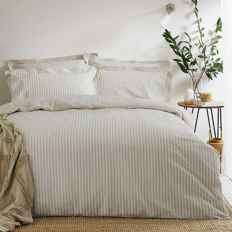 Hebden Natural 100% Cotton Duvet Cover