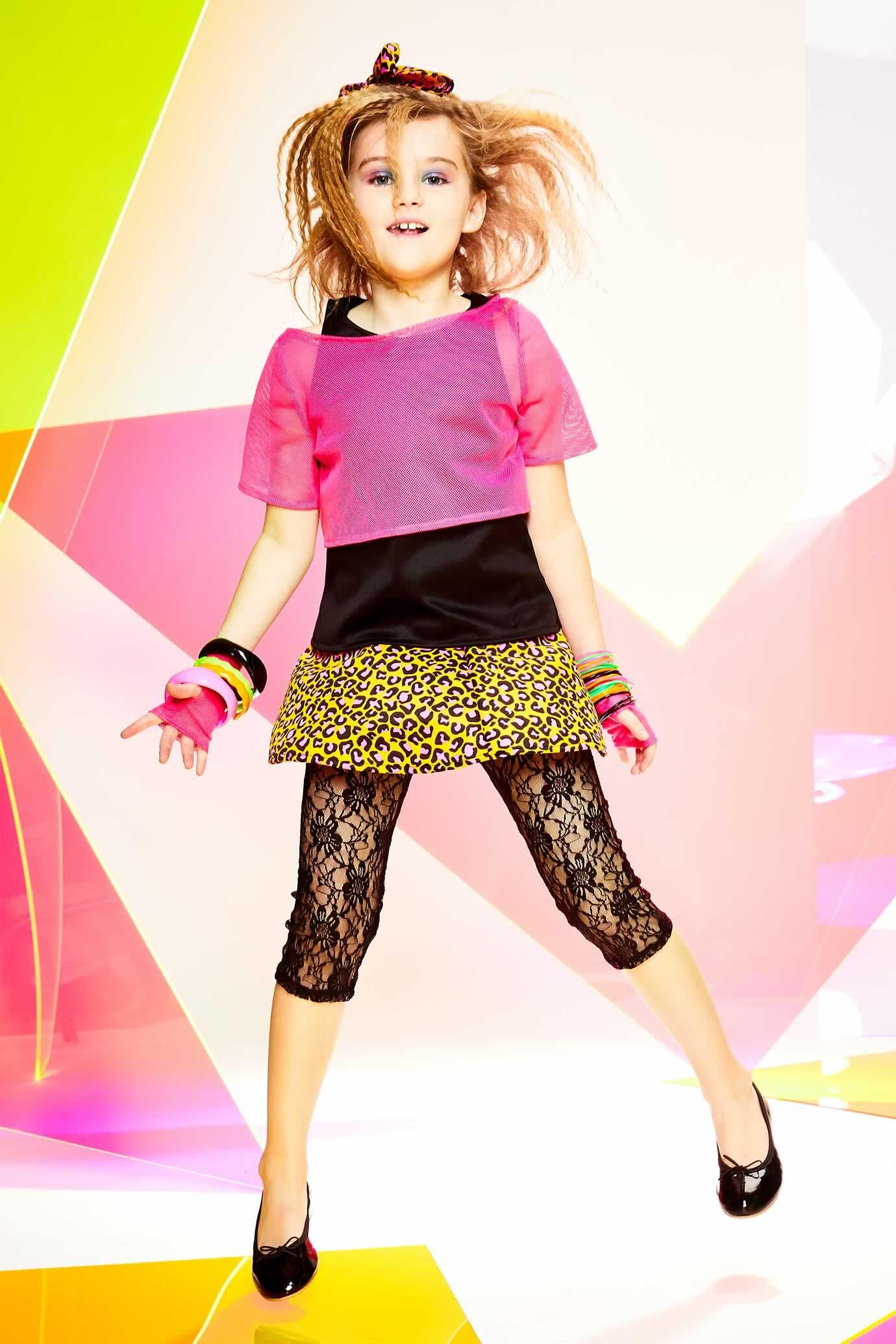 '80s Costume for Girls (With images) New halloween