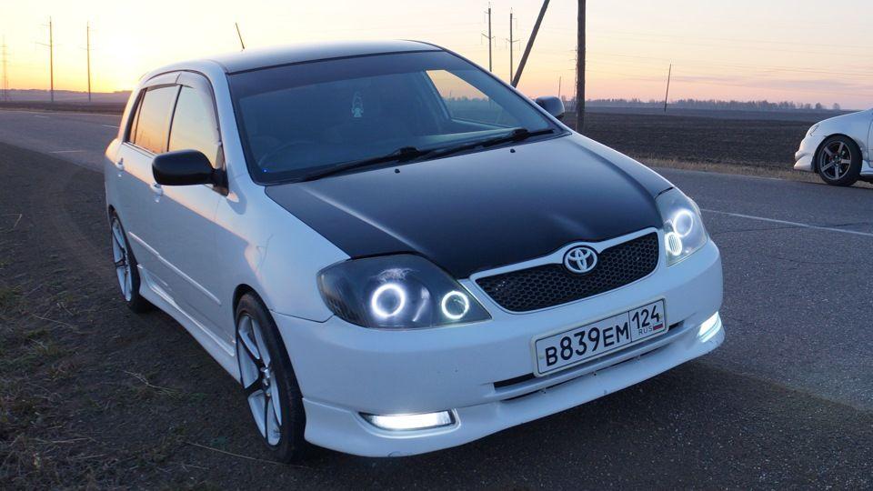 toyota runx ���`�� \u003d) car accessories toyota corolla, toyota, cars Pimped Toyota Corolla Runx