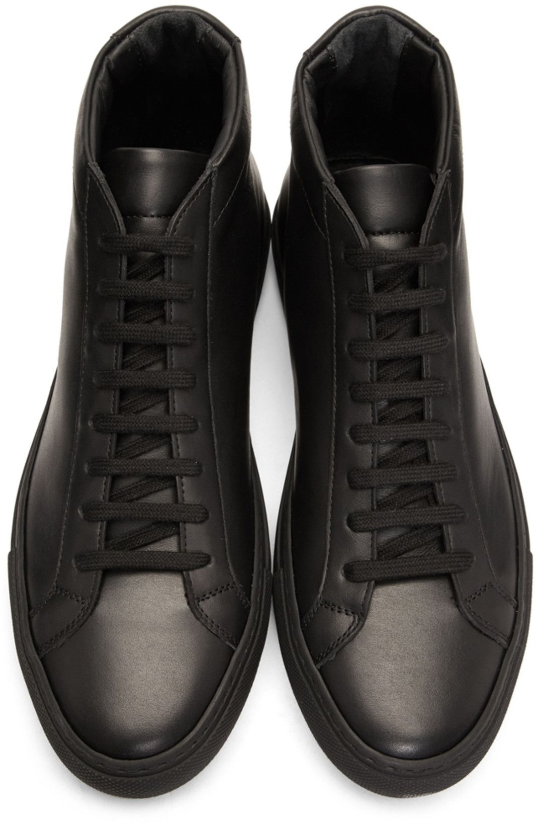 factory price c4132 b7226 Common Projects - Black Original Achilles Mid Sneakers
