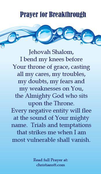 Spiritual Warfare Prayer for Breakthrough and Success | All