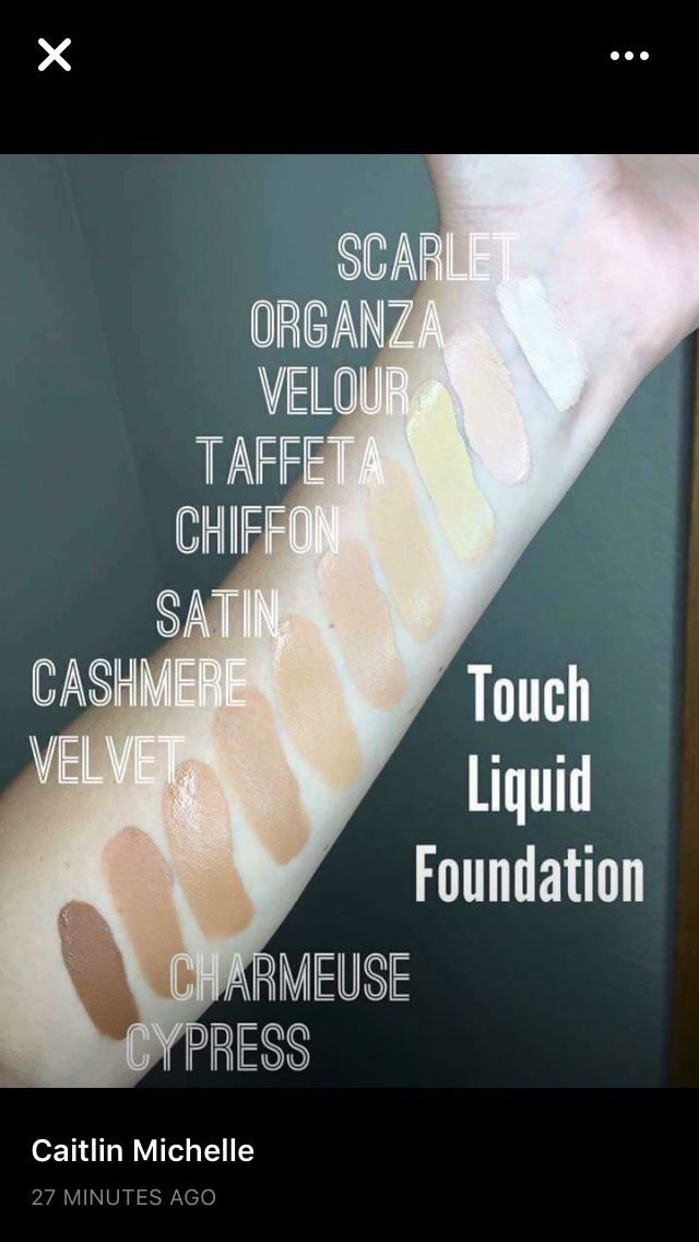 Younique mineral touch liquid foundation shade swatch i can color younique mineral touch liquid foundation shade swatch i can color match you with a picture of yourself in natural light solutioingenieria Choice Image