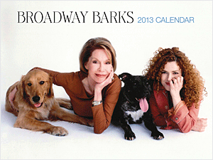 Need a calendar that helps our four legged fiends...buy a Broadway Barks Calendar signed by Bernadette Peters! All proceeds benefit Broadway Barks and the organizations that rescue and rehome pets in the New York City area.
