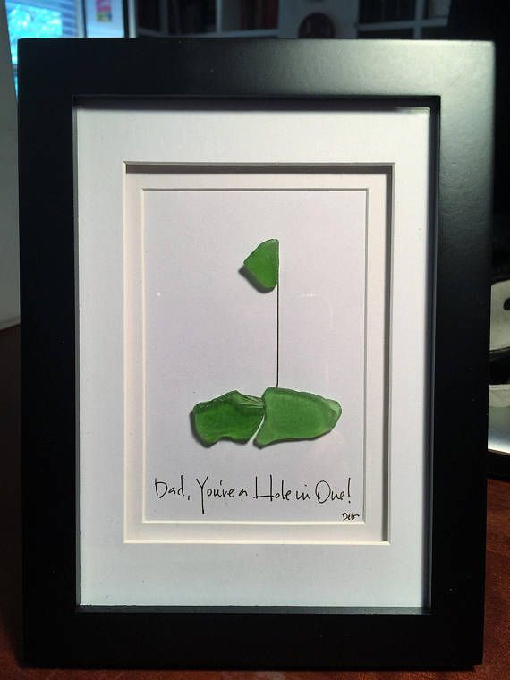 Dad You\'re a Hole in One An original Father\'s Day | Artsea Heart ...