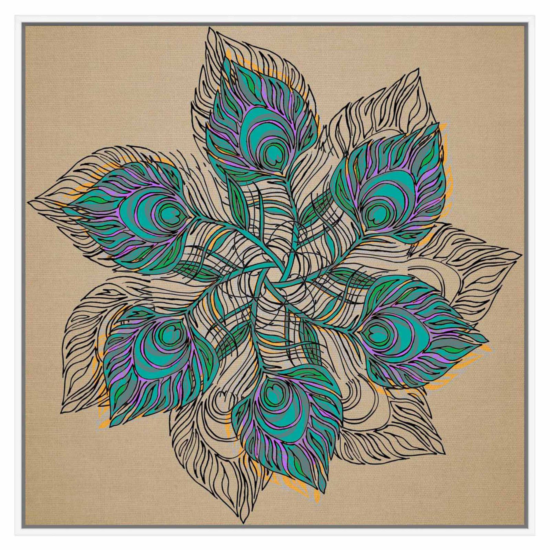 Ptm Images Boho Decorative Wall Art  9 92063