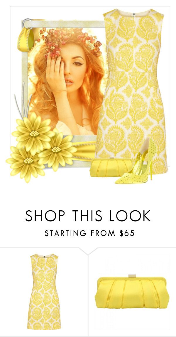 """""""Sunflower"""" by conch-lady ❤ liked on Polyvore featuring Diane Von Furstenberg and Jimmy Choo"""