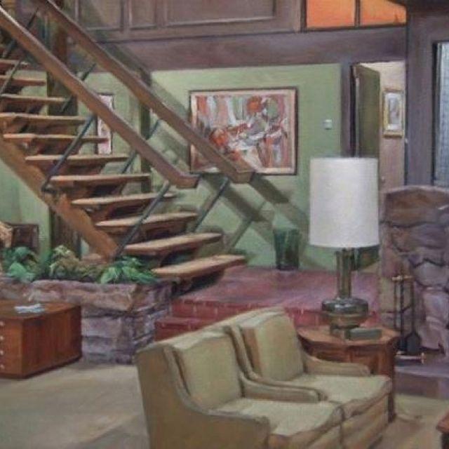The Brady's house - groovy 70's style! #bradybunchhouse