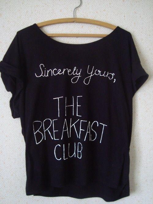 301a23acd783c THE BREAKFAST CLUB SHIRT! I NEEEEEED THIS