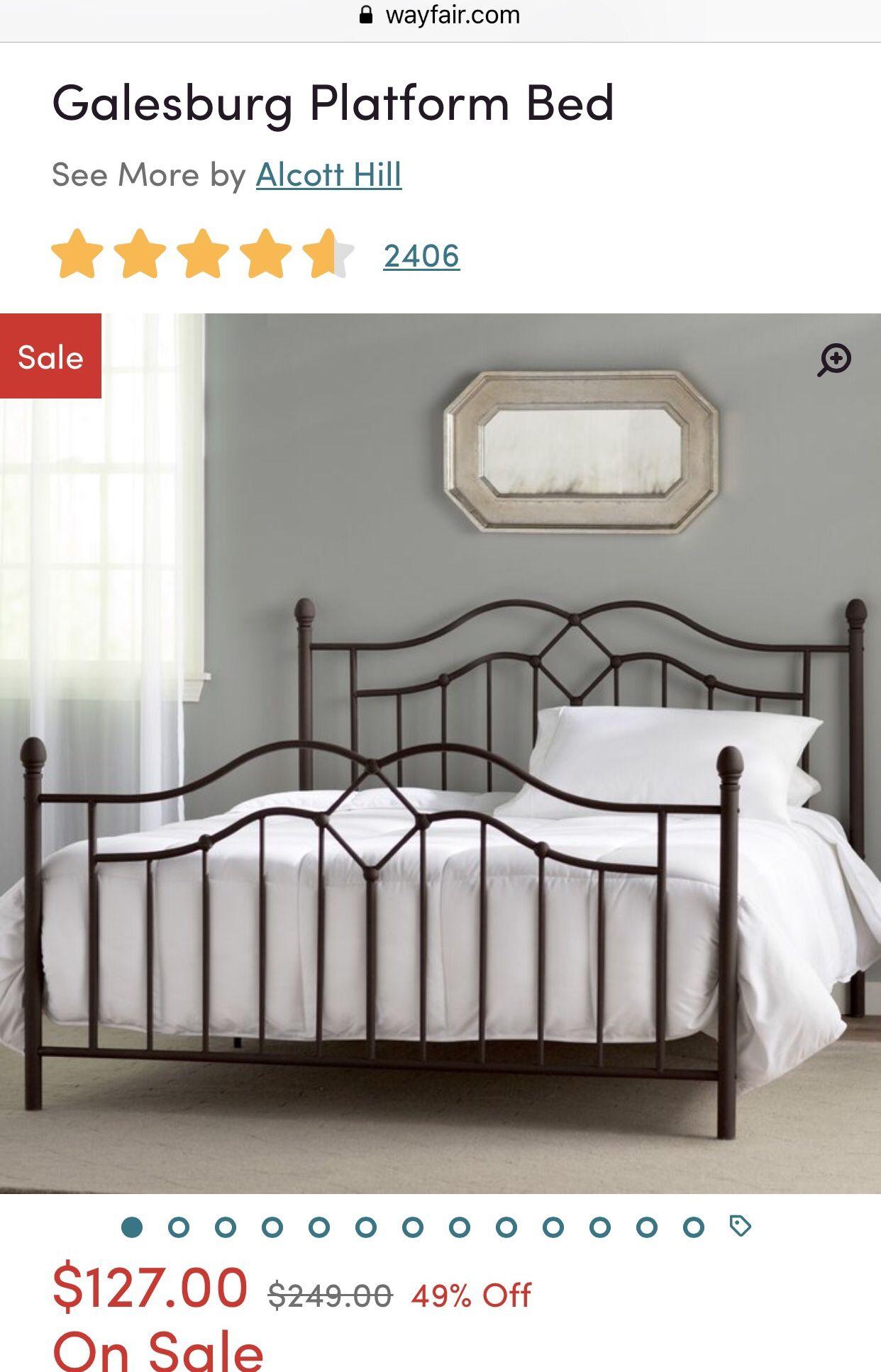 wayfair queen bed on love my queen bed from wayfair bed queen beds platform bed pinterest