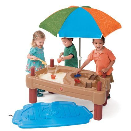 Amazon.com: Step2 Play Up Adjustable Sand Water Table: Toys U0026 Games