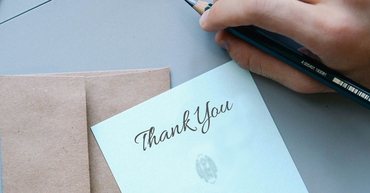 Ways Your ThankYou Note Could Lose You The Job  Professional