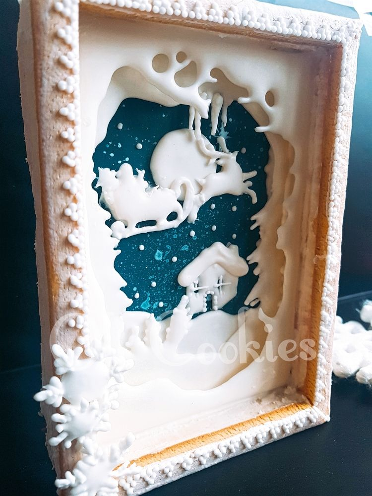 Christmas Cookie Box Christmas  Winter Cookies in 2018