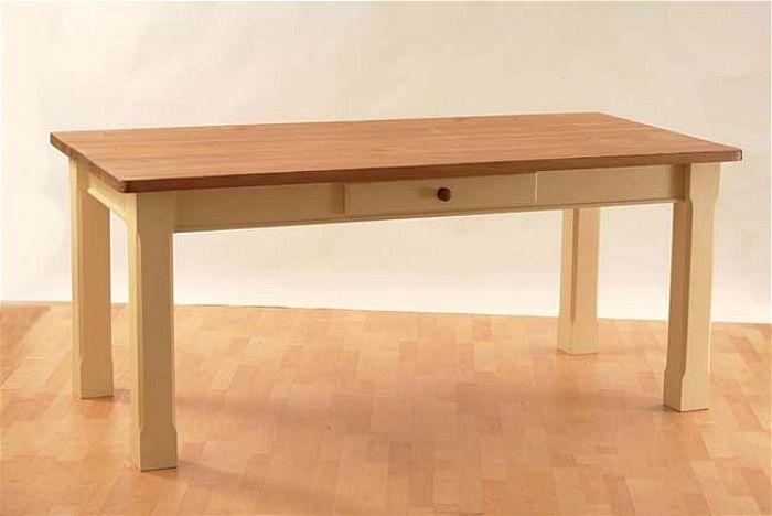 Mottisfont Painted 6ft X 3ft Square Leg Table Pine 6 3