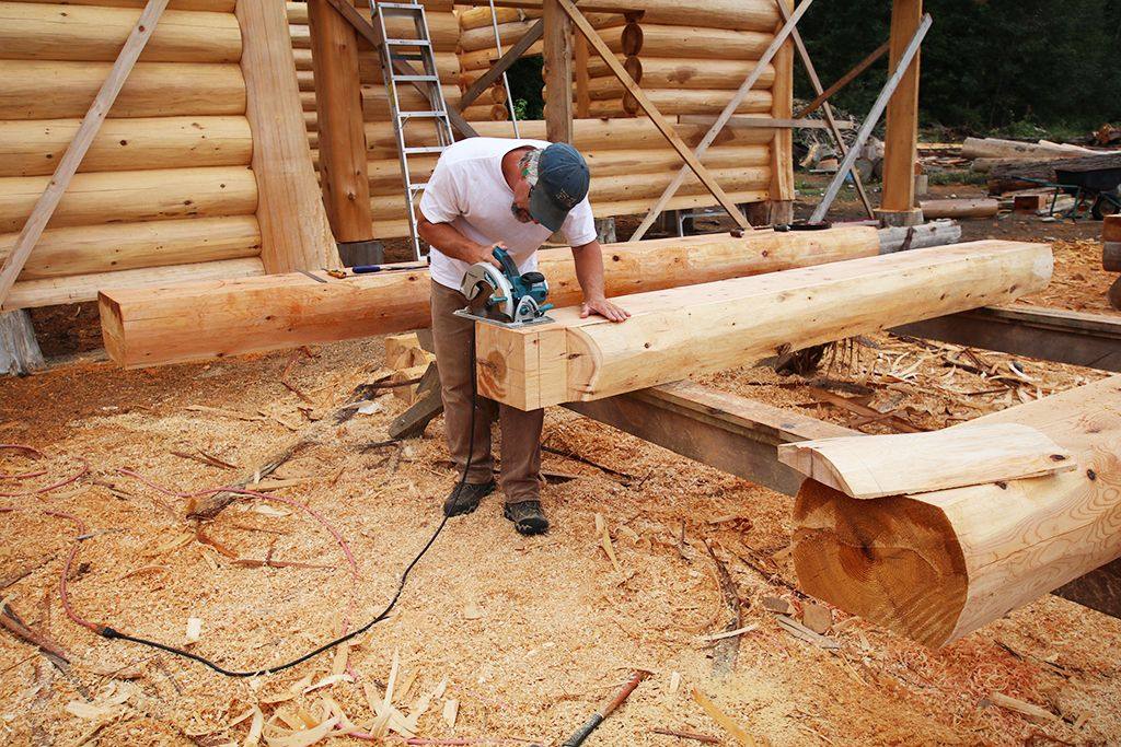 The Cascade Handcrafted Log Homes Team Includes The