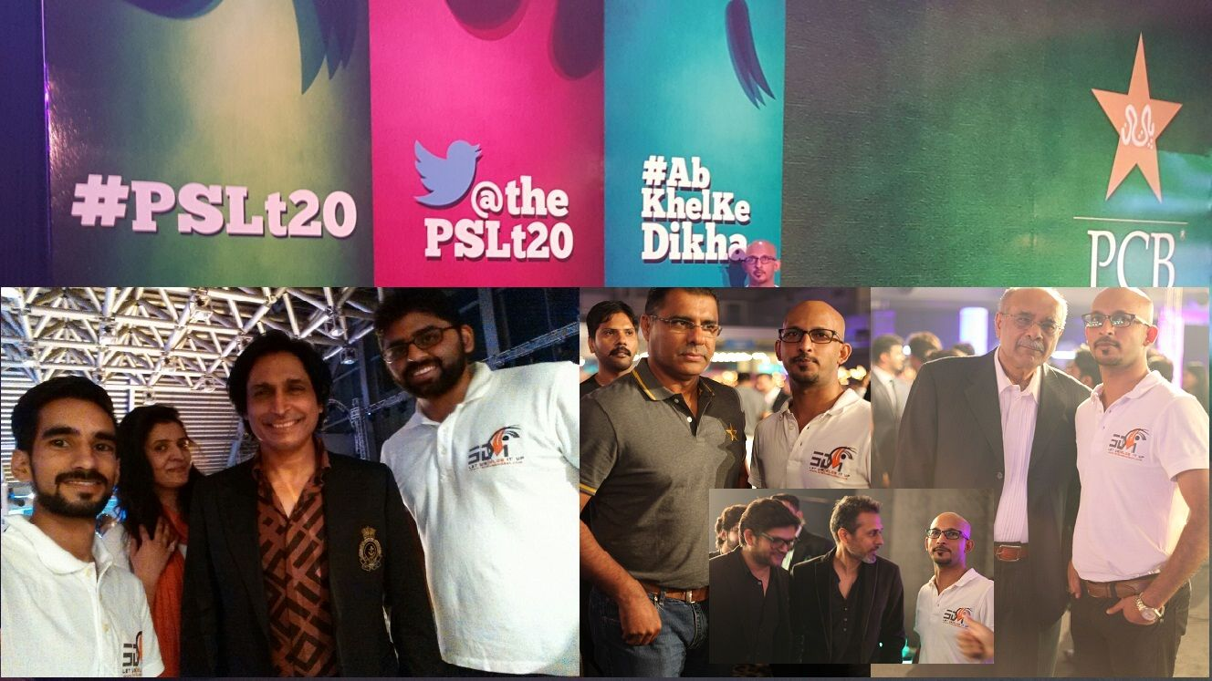 PslT20 Cricket League Launch Event with 3Di Team (With