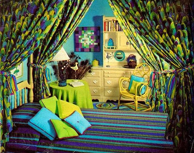1960 S Bedroom Retro Bedrooms Hippie Room Decor Hippie Home Decor