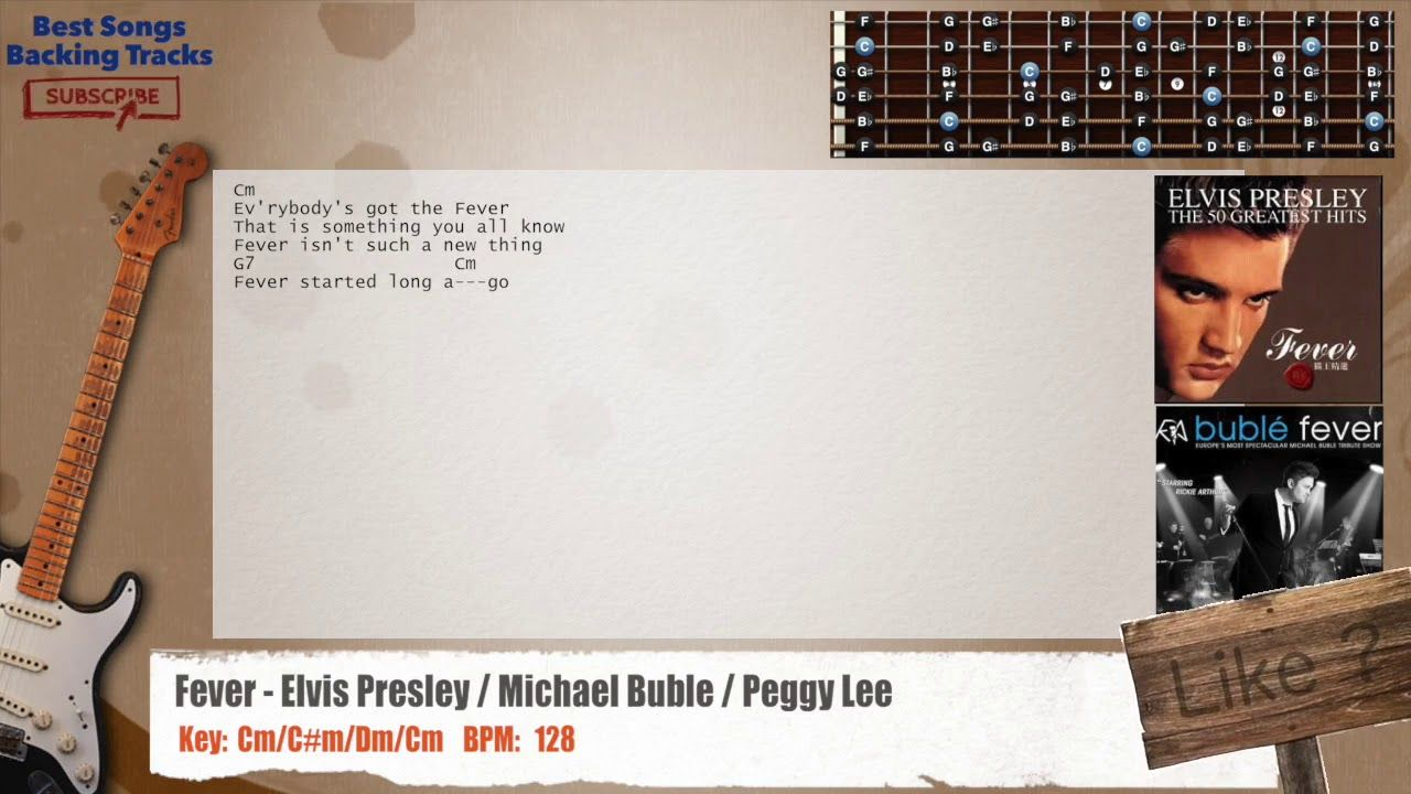 Fever - Elvis Presley / Michael Buble / Peggy Lee Guitar