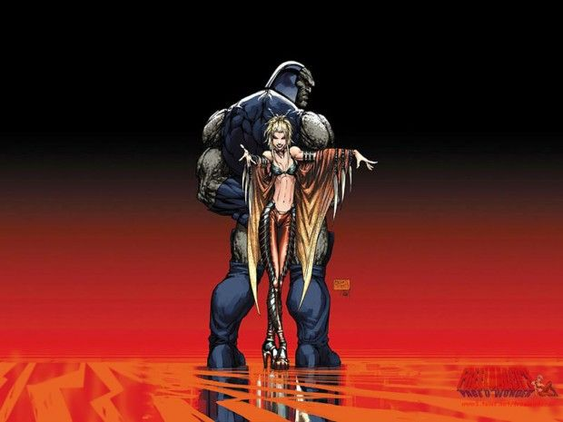 Bad Guy For The Justice League Movie Reveled How S Your Robot Supergirl Comic Comics Michael Turner