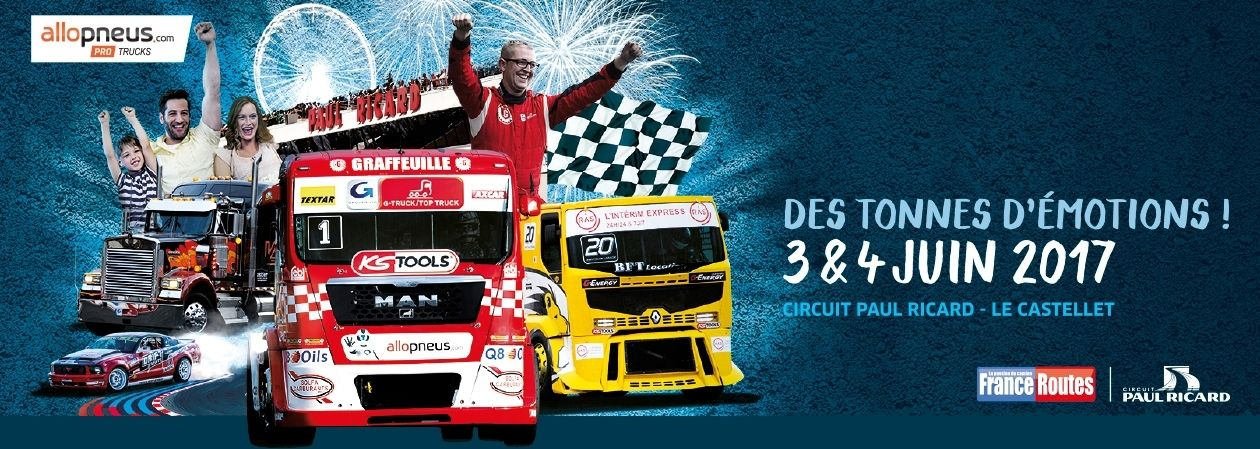 Accueil GP CAMIONS Circuit, Trucks, France