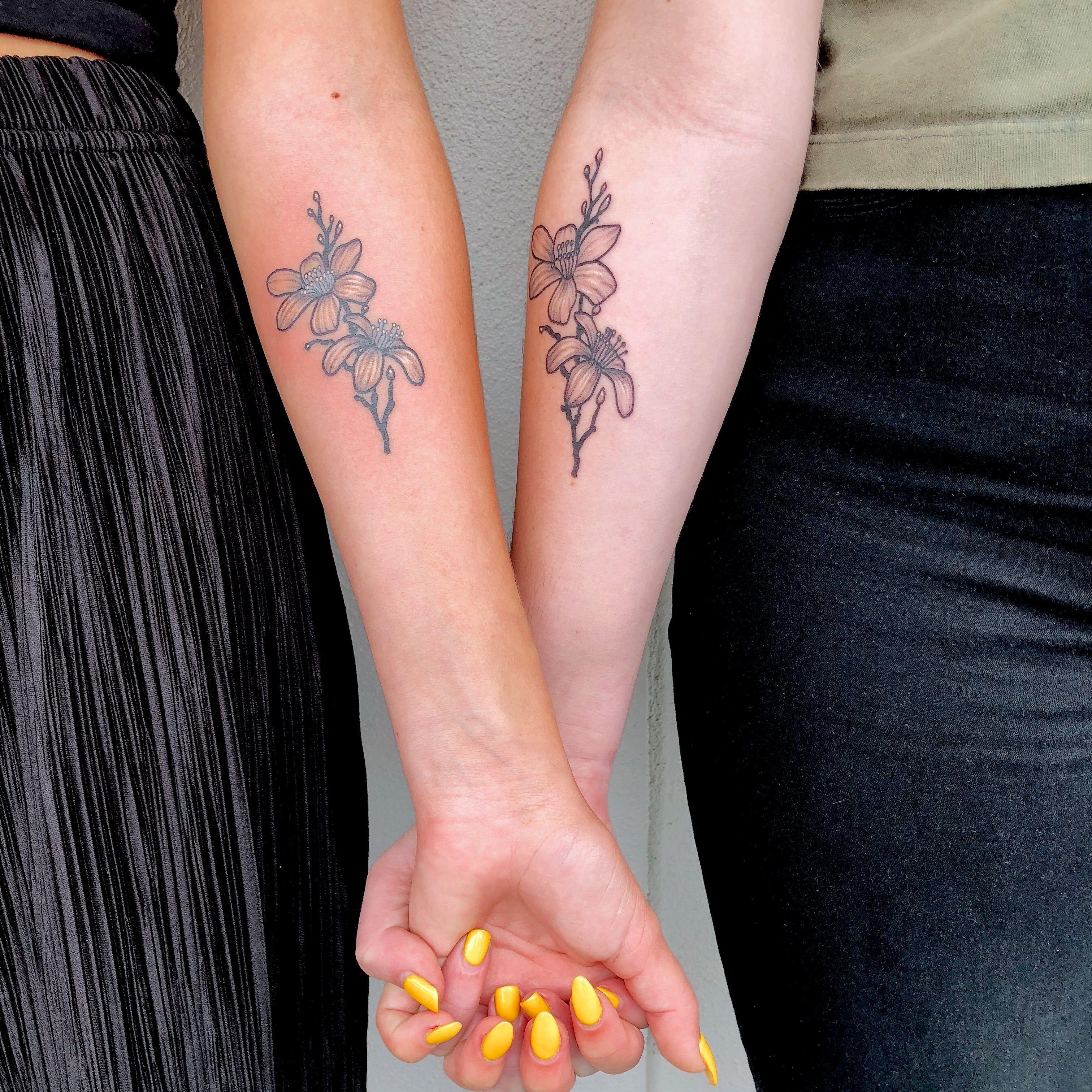 Orange Blossom Tattoo Blossom Tattoo Tattoos Friendship Tattoos