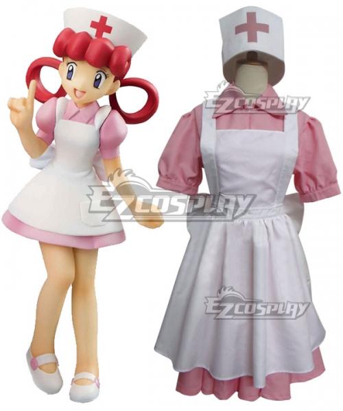 Pokemon Sun And Moon Nurse Joy Cosplay Costume Joy Costume Pokemon Costumes Pokemon Cosplay