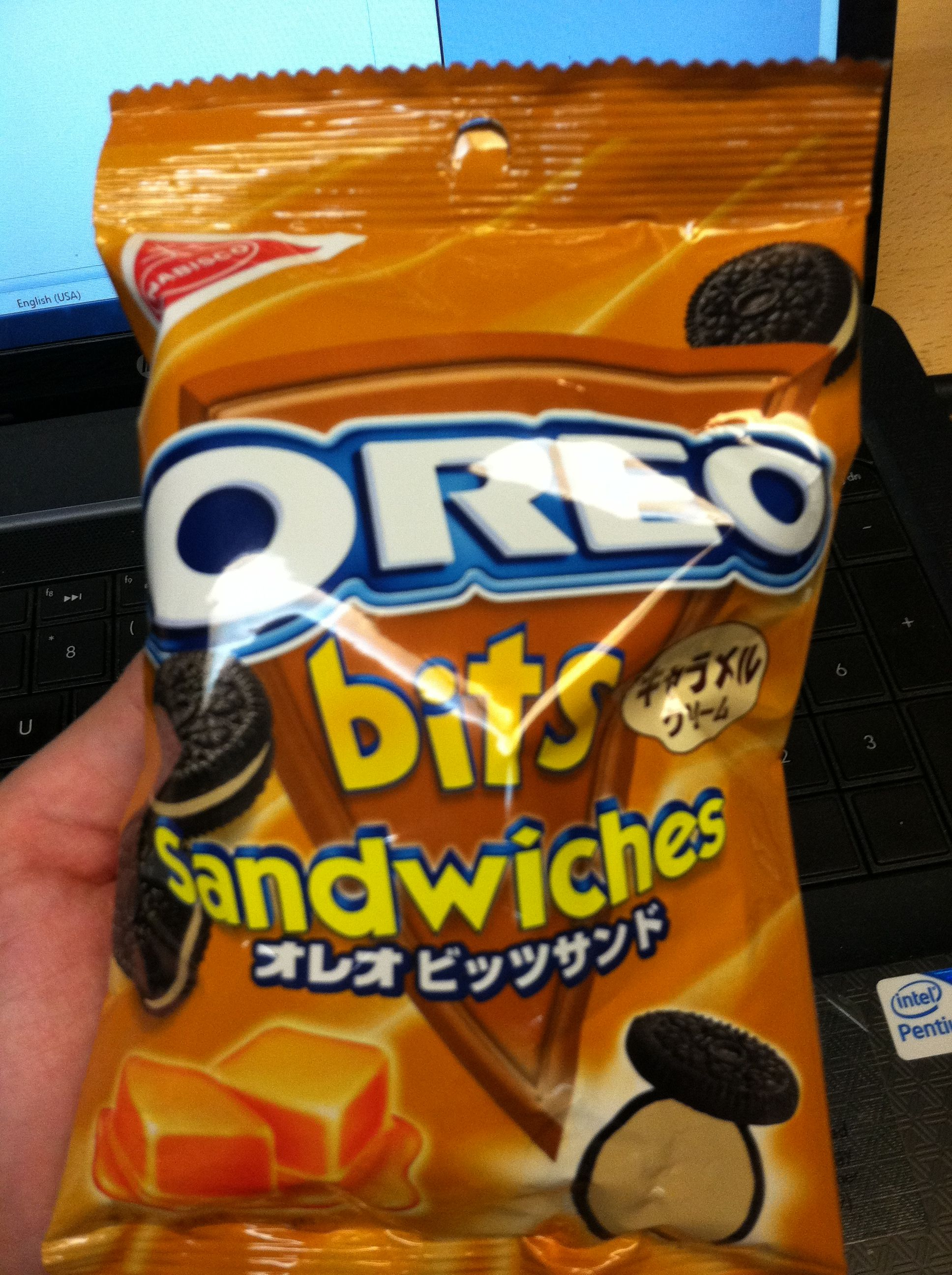 Caramel Oreos Japanese Snacks